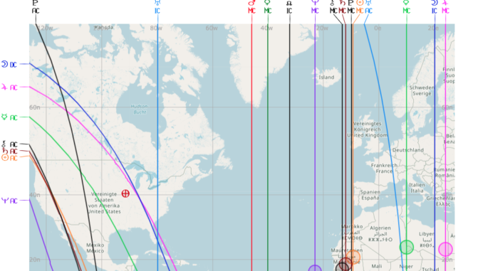 Astro cartografia